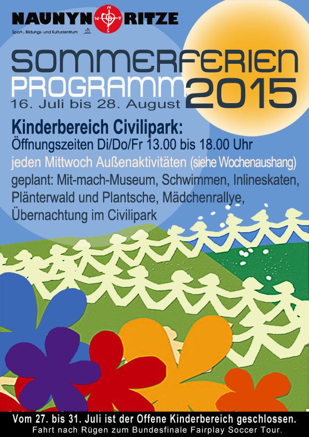 Kinder Sommer 2015 A5
